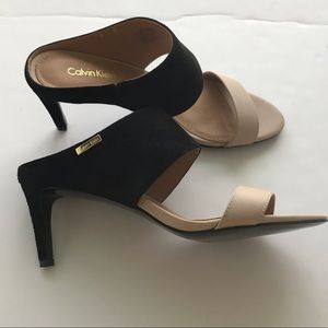 fdbcd2b1ef08 Calvin Klein Shoes - NWOB Calvin Klein Cecily Wide Strap Sandals
